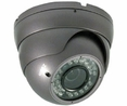 Eyeball Type Vandal and Weather Proof (Indoor/Outdoor) Infrared CCTV Cameras