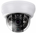 Eyemax UDR-2544DV Anti-IR Reflection | EX-SDI 1080p Indoor Dome Camera with Vari-Focal Lens, 4 COB IR, True WDR, Dual Power