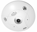 Fisheye Cameras, 360 Degree Field of View, All-in-One Panoramic and PTZ IP Camera by LTS