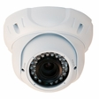 Gen IV CD6 EZMount Armor Dome Infrared Sony 600TVL Color Camera with 2.8-11mm Lens White Housing