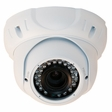 Gen IV CD7 Advanced EZMount Armor Dome Infrared Sony Effio 700TVL Color Camera with 2.8-11mm Lens