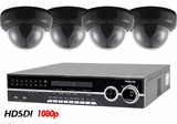 HD-SDI-4DOV Full High Definition Recording 1080p 4 Camera System with Indoor Dome Cameras