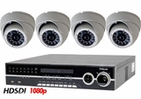 HD-SDI-4TIR 4 Camera NightVision Indoor/Outdoor CCTV System with Full High Definition Recording 1080p