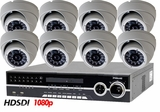 HD-SDI-8TIR 8 Camera NightVision Indoor/Outdoor CCTV System with Full High Definition Recording 1080p