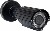 EX-SDI and HD-SDI Bullet Outdoor/Indoor Cameras with Nightvision
