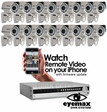 HQC-16IR Complete 16 Camera CCTV System with Eyemax DVR