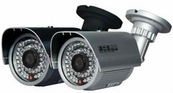 "LTS CMR5372-CM 700 TVL 1/4"" sensor 3.6 Millimeter Fixed Lens IR LEDs 82 Weather-Proof DC 12V Input Bullet Camera"