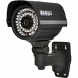 LTS CT601BL, 100FT IR CCTV Camera, 1/3 Sony Super HAD CCD 480TVL, 3.6MM Lens IP65 Weatherproof, Cable Protected Inside Bracket