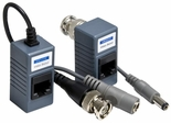 Passive Video/Power Balun - One Pair