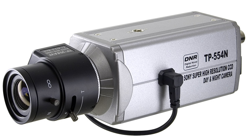 Professional Box Cctv Cameras With C Mount Lens Security