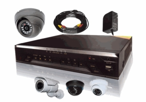 ProPlus Custom 1,2,3 or 4 Camera CCTV System with Your Choice of Cameras