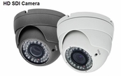"SDI-IR9542-W 1/3"" CMOS Lens 1080P Resolution 42 IR, 4mm Fixed Lens Infrared Dome Camera"