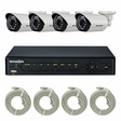 Truon NPK-SR5C0410AE 720p 4CH IP Package(Cameras + NVR)