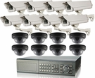 Ultimate Series 16 Camera CCTV System Best For Hotel,  Car Dealership, Parking Lot, Storage Facility, Gas Station