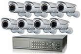 Ultimate Series CCTV System Best For Outdoor Surveillance for Farm,  Motel, Shop, Gas Station, Parking Lot, Storage Facility, Warehouse