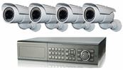 Ultimate Series, The Best 4 - 8 Camera CCTV Surveillance System with Long Range Bullet Nightvision Camerras, 8 Channel DVR Included