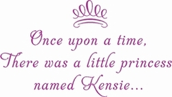 Little Princess Nursery Wall Quote