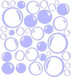 Vinyl Wall Art - Bubble Sheet