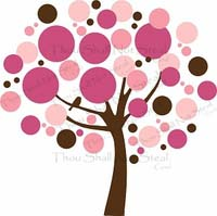 Nursery Wall Art -  Bubble Tree