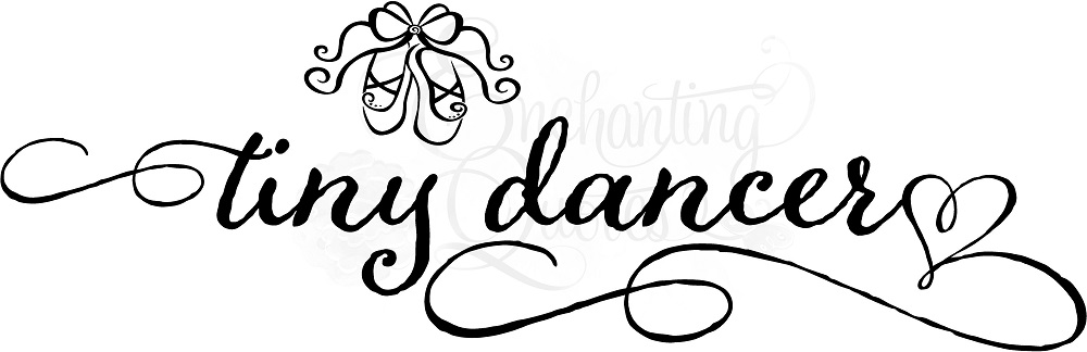 Dance Quotes for Little Girls, Vinyl Dance Wall Quotes