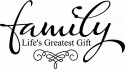 Family - Greatest Gift Digital Download
