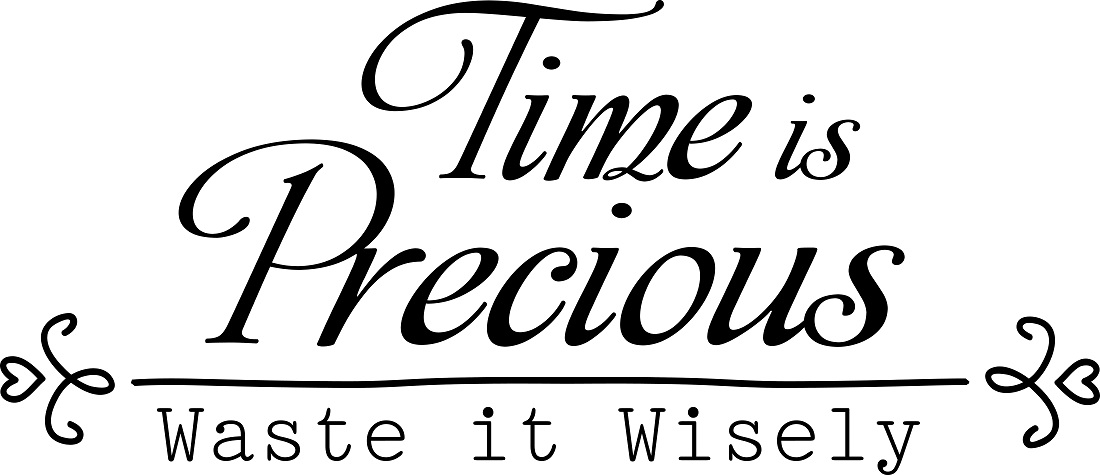 family quotes vinyl wall decals time is precious waste it wisely family quote time is precious