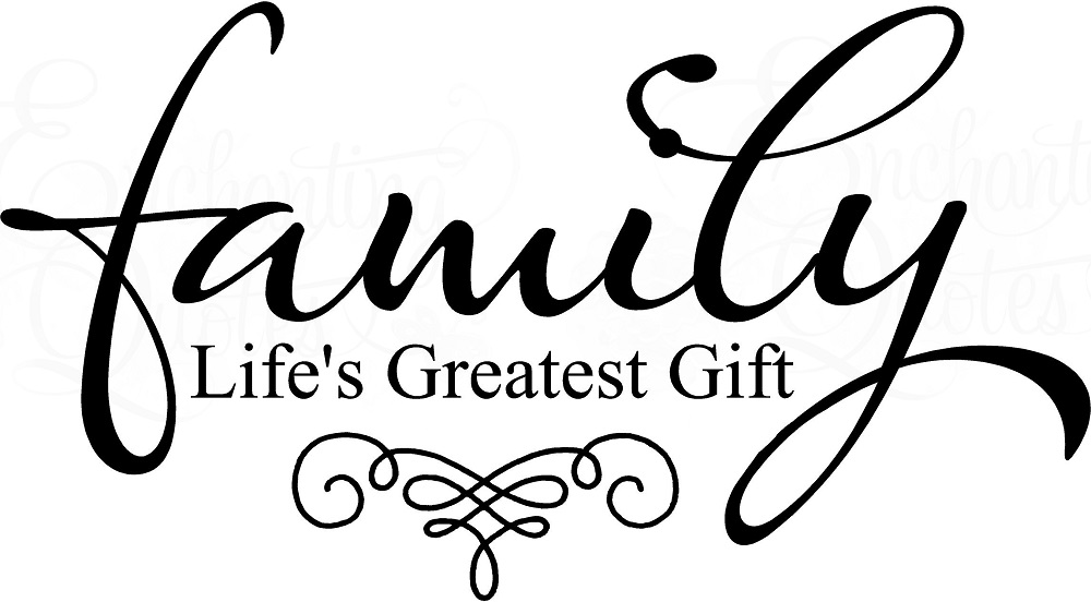 Family Life Quotes Mesmerizing Family Quotes  Vinyl Wall Decals  Family Life's Greatest Gift