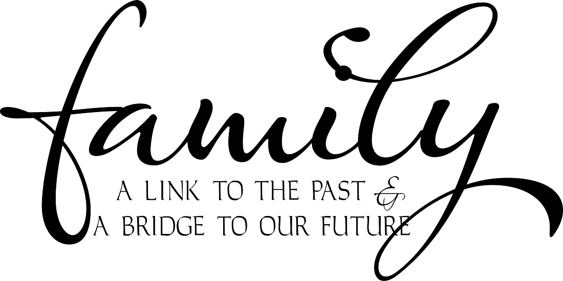 Family Quote Glamorous Family Quotes  Vinyl Wall Decals  Wall Sayings  Family Link Quote