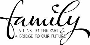 Family Link Wall Quote Decal