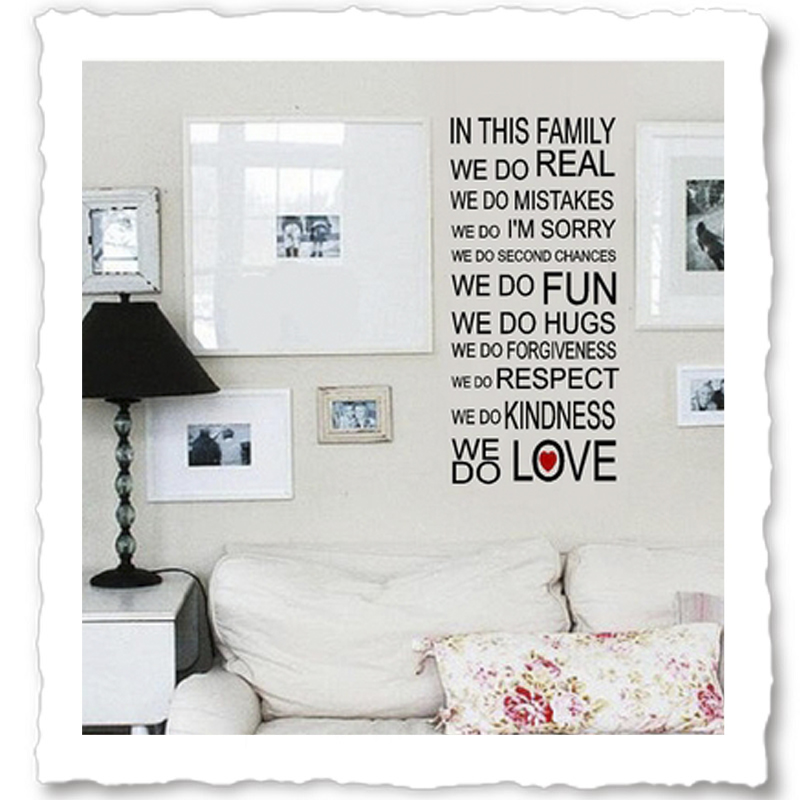 Family Wall Quotes Vinyl Wall Quotes Quotes About Family - Custom vinyl wall decals sayings for family room