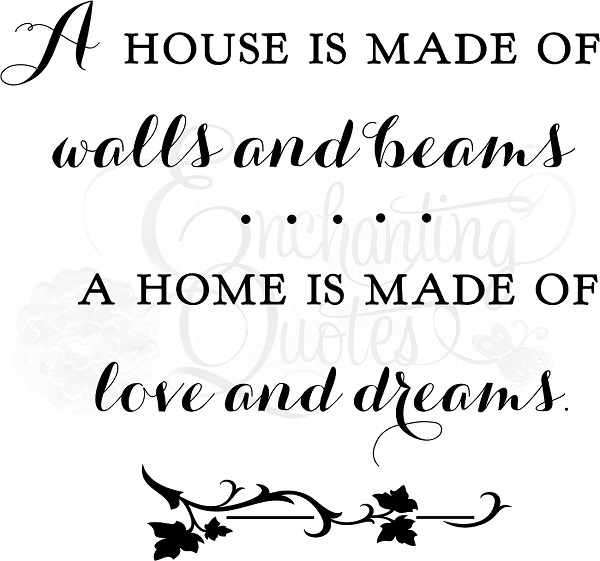 Love U0026 Dreams Family Wall Quote Decal