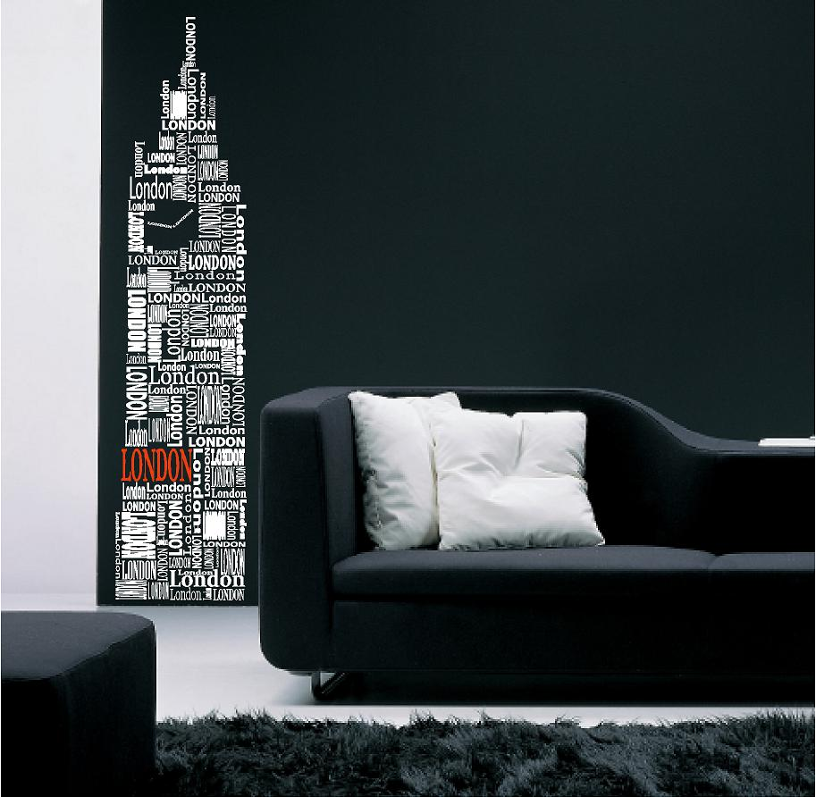 London Big Ben. Vinyl Wall Art ...