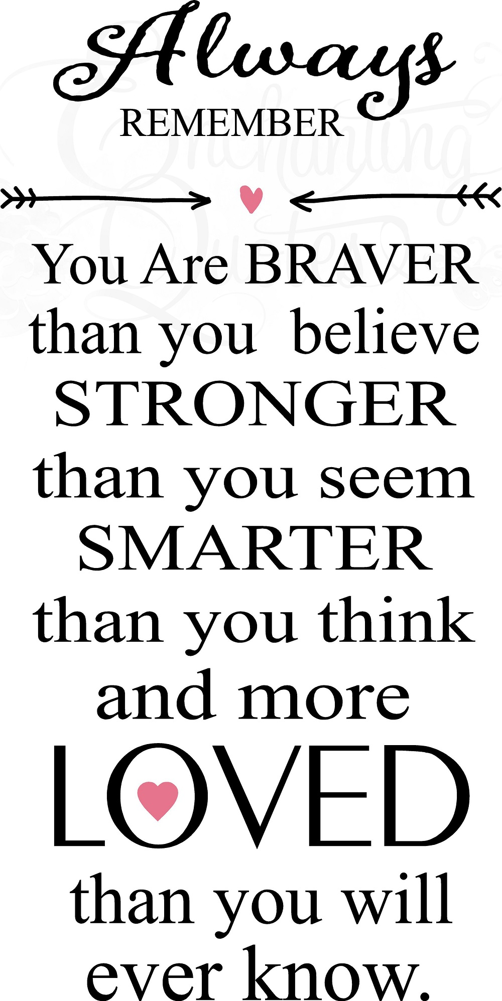 nursery wall quotes always remember your are braver