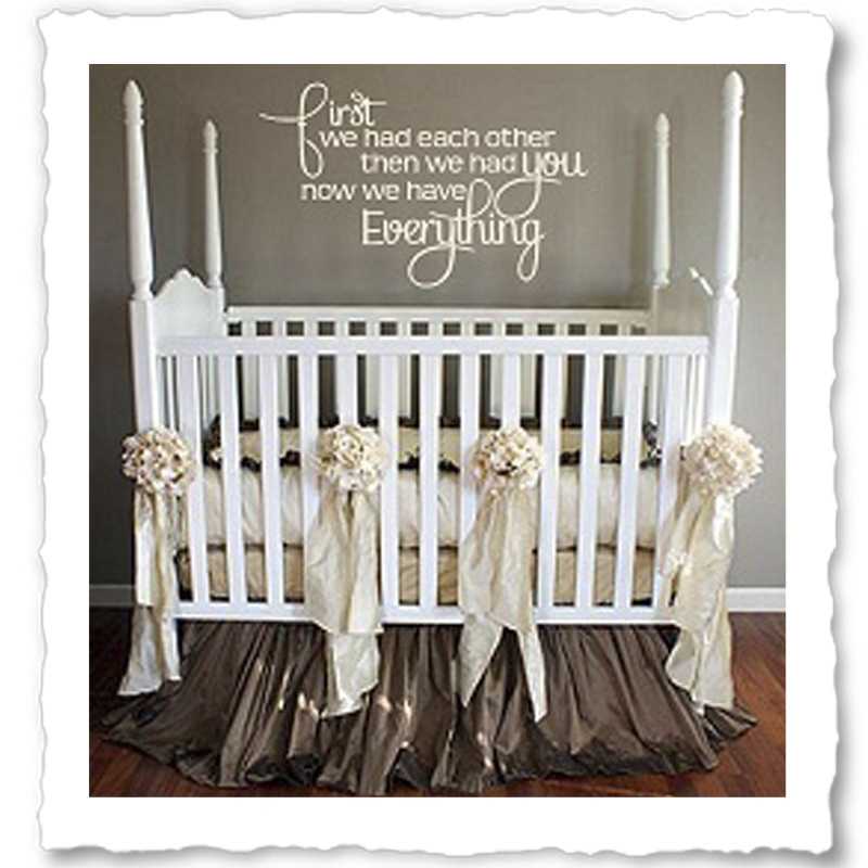 Nursery Wall Quotes Baby