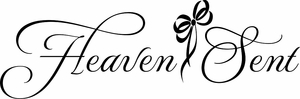 Heaven Sent Nursery Wall Quote