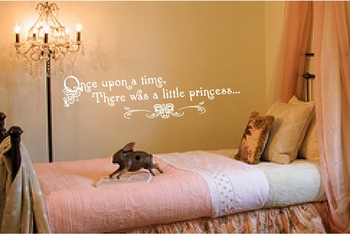 Once Upon A Time Nursery Wall Quote