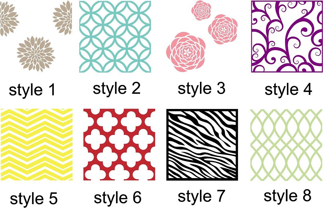 Vinyl Wall Art Wall Accent Decals Vinyl Wall Patterns