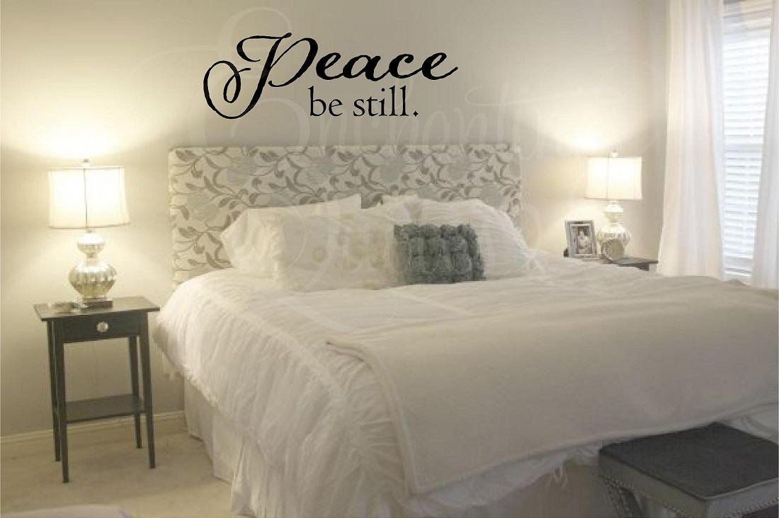 Peace Be Still Wall Quotes