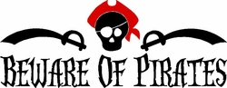Beware of Pirates Little Boy Quote