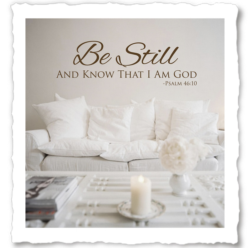 Religious Wall Quotes, Christian Vinyl Wall Quotes, Wall Decals