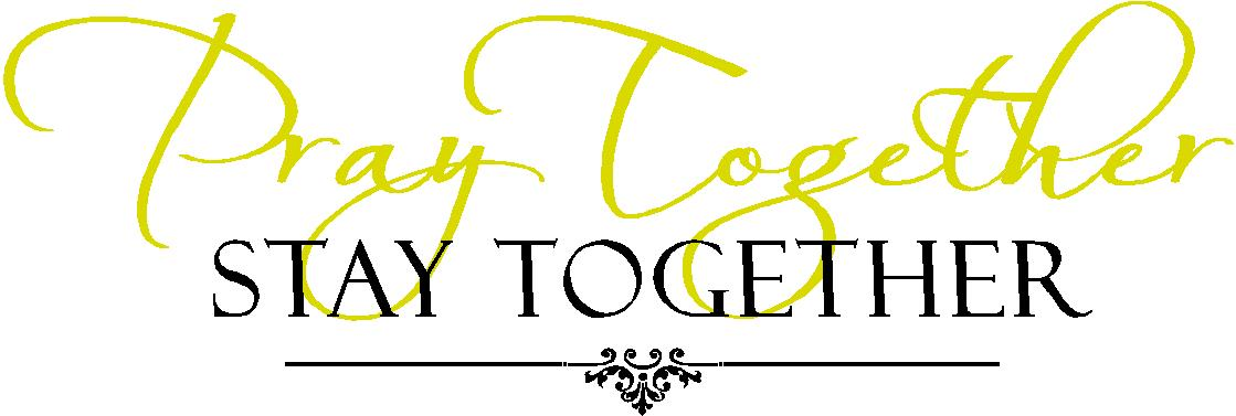 Religious Wall Quotes | Vinyl Wall Decals Pray Together Stay Together