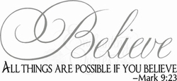 Vector Quotes - Believe All Things