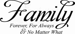 Vinyl Ready Vector - Family No Matter What