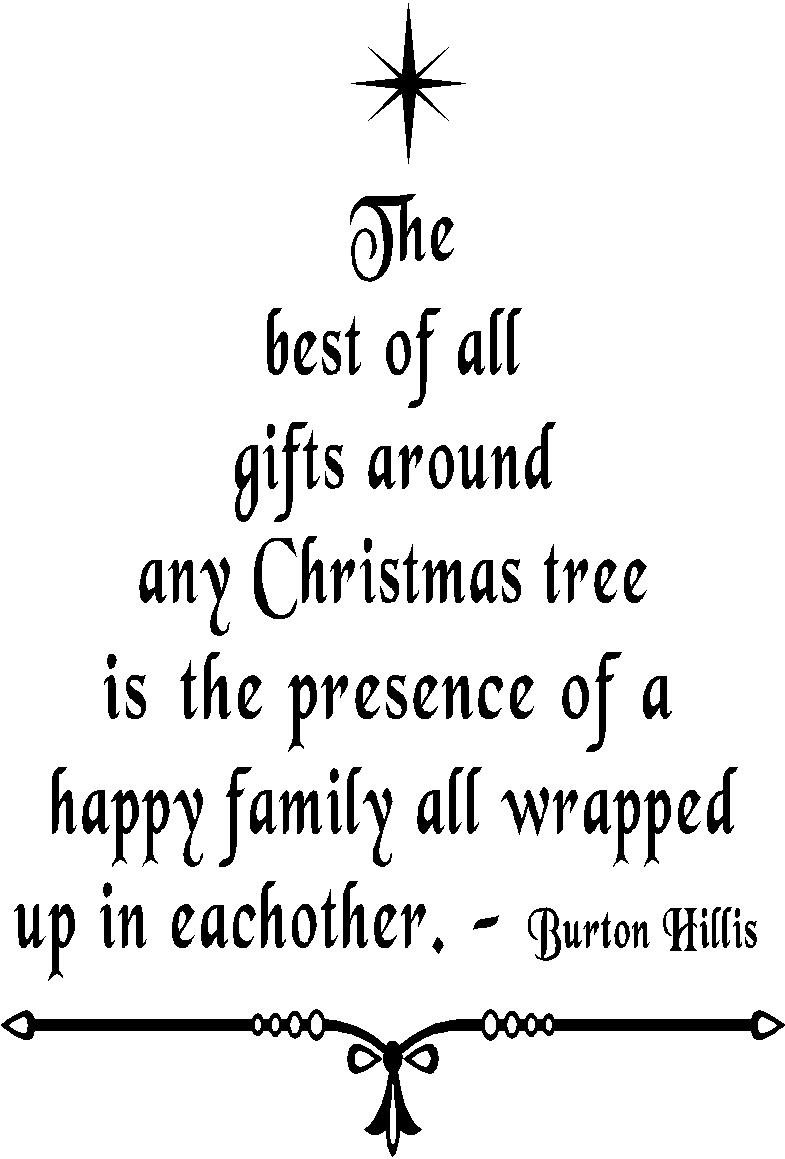 Quotes Christmas Christmas Wall Quotes  Christmas Tree Vinyl Wall Art