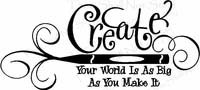 Wall Quotes - Create Pen & Flourish