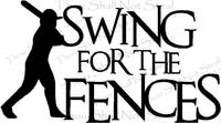 Swing For the Fences - Baseball Sayings