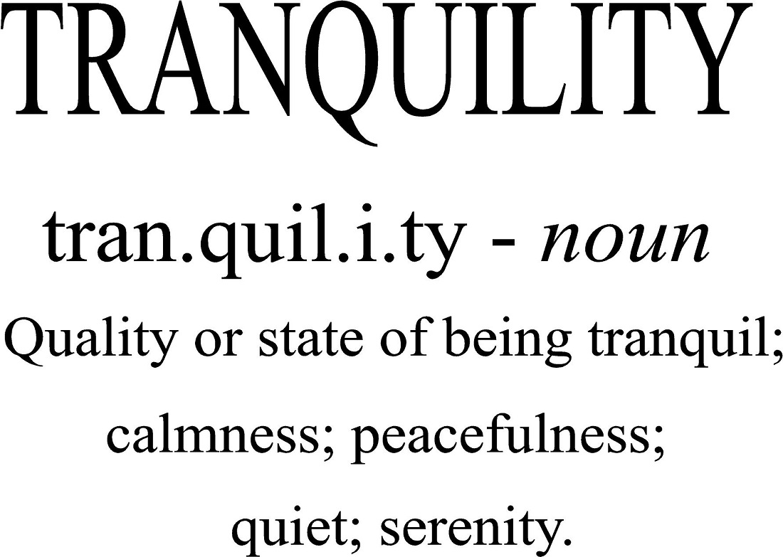Quotes Definition Bathroom Wall Quotes  Tranquility Definition Words For Wall
