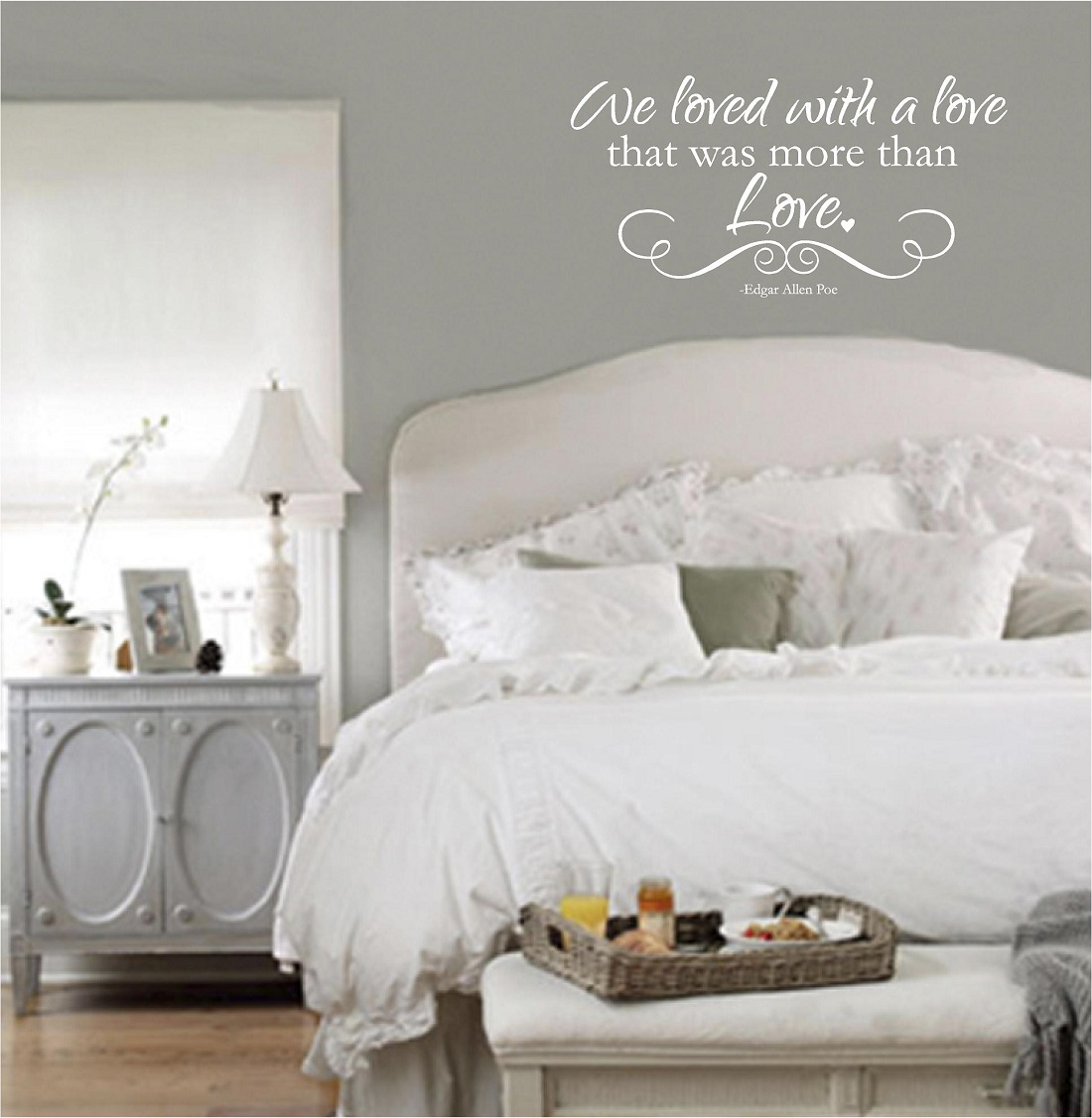 Bedroom wall quotes vinyl wall decals we loved for Bedroom vinyl quotes