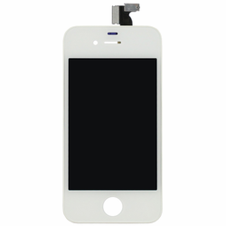 AT&T iPhone 4 LCD + Touch Screen Digitizer Assembly - White
