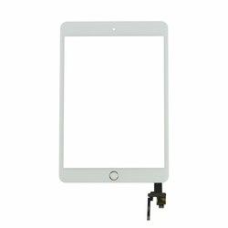 iPad Mini 3 Touch Screen with IC Chip and Home Button - White/Gold